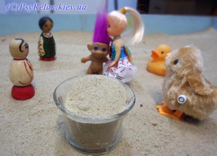 Песочная психотерапия фото